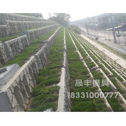 混凝土箱式生态护坡模具应用范围图片