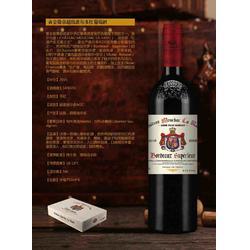 法国有哪些红酒品牌招商黄金徽章超级波尔多红葡萄酒图片