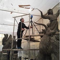 雕塑、泥塑、艺术品图片