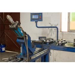 角铁法兰机供应厂家-角铁法兰机-蘑菇云智能装备(查看)图片