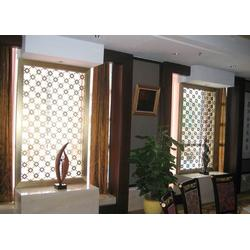 梦奇源装饰(图)、酒店别墅不锈钢屏风隔断、不锈钢屏风隔断图片
