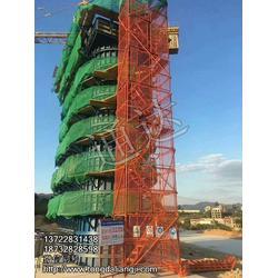 高空外墙作业安全爬梯通达厂家生产图片