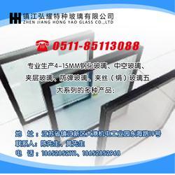 钢化厂玻璃-镇江钢化厂-镇江弘耀玻璃钢化玻璃(查看)图片