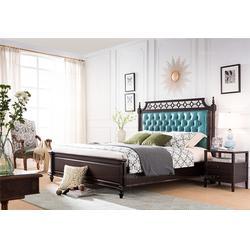 床-卫诗理家具美丽出众-简约美式床厂家图片