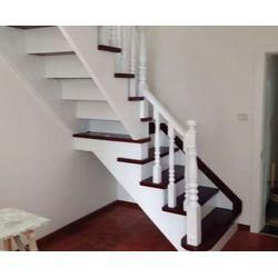 余杭区实木楼梯,钢构实木楼梯,杭州美家楼梯(优质商家)图片
