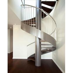 复式旋转楼梯|杭州美家楼梯(在线咨询)|建德市旋转楼梯图片
