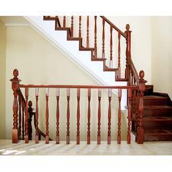 萧山区实木楼梯、杭州美家楼梯、实木楼梯定制图片