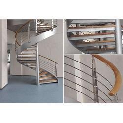 桐庐县旋转楼梯-杭州美家楼梯-室外旋转楼梯图片