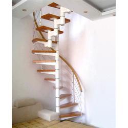 别墅楼梯厂家 杭州美家楼梯萧山区别墅楼梯