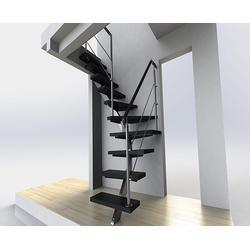 滨江钢木楼梯-杭州美家楼梯-实木钢木楼梯图片