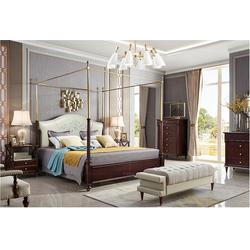 美式乡村美式床、美式床、卫诗理美式床(多图)图片