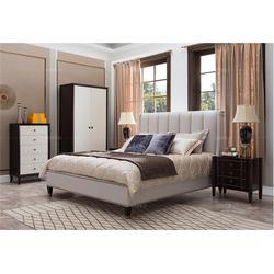 美式床、卫诗理美式床、复古美式床图片
