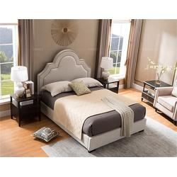 床主卧婚美式床_美式床_卫诗理美式床(多图)图片