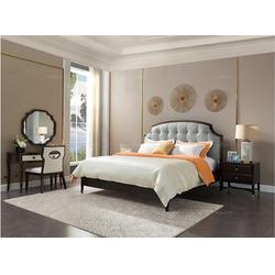 美式床_卫诗理美式床_美式床北欧图片