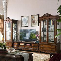 中式电视柜品牌 温江区中式电视柜 卫诗理家具(图)图片