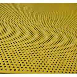 微孔冲孔网-穗安冲孔板供应商-微孔冲孔网建筑隔离网图片
