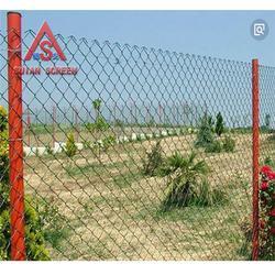 专业供应喷塑勾花网厂-穗安勾花网加工厂家-越秀喷塑勾花网图片