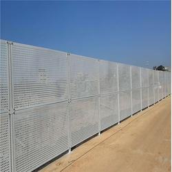 镀锌优质冲孔围挡圆形网-广西冲孔围挡-穗安冲孔网板金属板图片