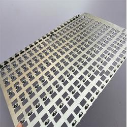 金属装饰冲孔网供应商-桂林装饰冲孔网-穗安菱形金属筛网板图片