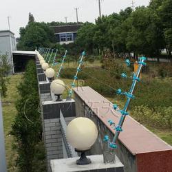 拓天6线脉冲电子围栏报警系统 周界防范入侵报警图片