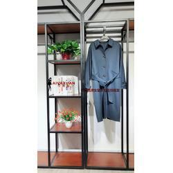 西域玫瑰 双面尼 17冬时尚韩版休闲折扣店货源 想找直播货源就到艾薇萱图片