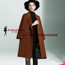 CK双面呢秋冬款品牌女装折扣品牌女装库存尾货厂家一手货源图片