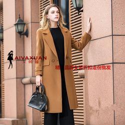 前沿欧洲管双面羊绒大衣-简单大气CK双面呢折扣女装图片