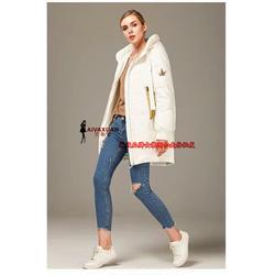 女性必备 当季流行冬装凯诗依羽绒服 品牌女装尾货厂家一手货源图片