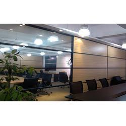 福州办公玻璃隔断厂、福州万喜得艺术玻璃、福州办公玻璃隔断图片