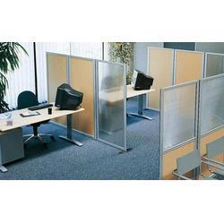 福州办公玻璃隔断厂家,福州办公玻璃隔断,福州万喜得装饰图片
