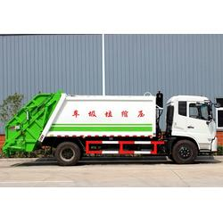 挂桶压缩垃圾车配置-垃圾运输车-咸阳挂桶压缩垃圾车图片