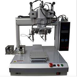 焊锡机,青岛创优特,自动焊锡机器人规格图片