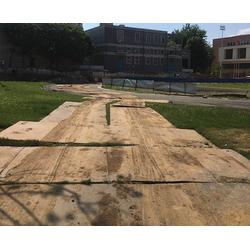 铺路钢板出租多少钱一块、合肥铺路钢板出租、合肥东兵工程图片