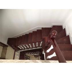 办公楼木楼梯多少钱|喜贵木业|木楼梯多少钱图片