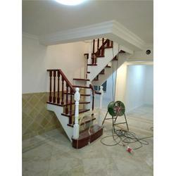 北京别墅泰橡木楼梯公司、喜贵木业图片