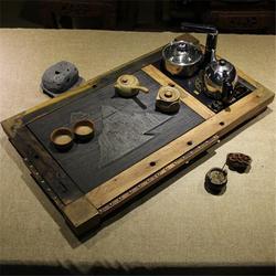 聊城写字楼古船木茶盘报价,喜贵木业(优质商家)图片