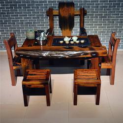 船木茶桌报价-喜贵木业-会客厅船木茶桌报价图片