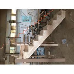 上海公司木楼梯哪家优惠、喜贵木业图片