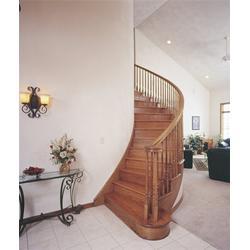 喜贵木业(图) 商用樱桃木楼梯哪家好 樱桃木楼梯哪家好图片