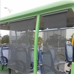 电动观光车遮雨帘定做、垚之久汽车零部件、徐州电动观光车遮雨帘图片