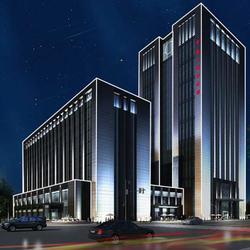 楼体亮化施工 和田地区楼体亮化 朗和照明灯图片