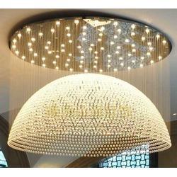 酒店餐厅专用现代简约定制大吊灯图片