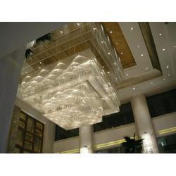 酒店大堂水晶吊線燈圖片