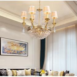 选欧式别墅灯就选润林泉图片