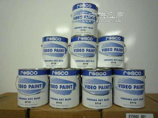 ROSCO影视视频抠像漆不反光蓝箱漆图片