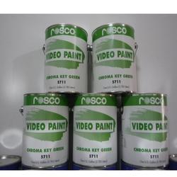 美国进口ROSCO影视抠像漆环保绿色漆图片