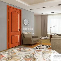 3D木门厂家、【金纳莱木门】保质保量、地暖专用门图片