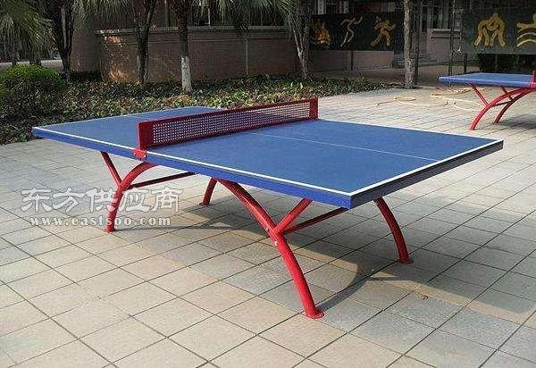 可折叠式乒乓球台_折叠式乒乓球台_奥祥文体厂家现货图片