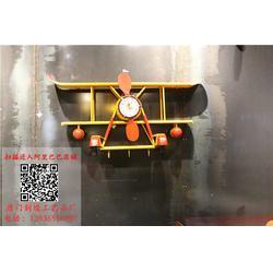 铁艺飞机挂饰定做-唐门制造工艺品(在线咨询)铁艺飞机挂饰图片