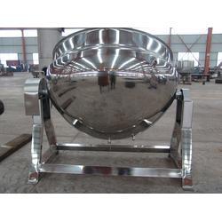 蒸汽夹层锅_诸城丰昌机械(在线咨询)_蒸汽夹层锅的安装图片